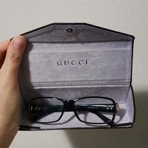 Gucci Glasses Frames and Case